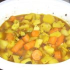 Slow Cooker Root Vegetable Tagine Recipe