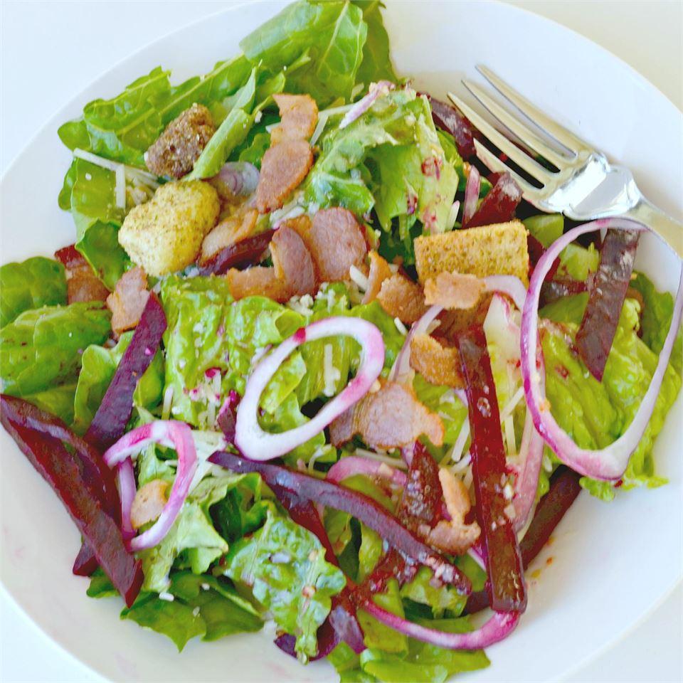 Receita de Salada de Vinagrete de Beterraba e Balsâmico