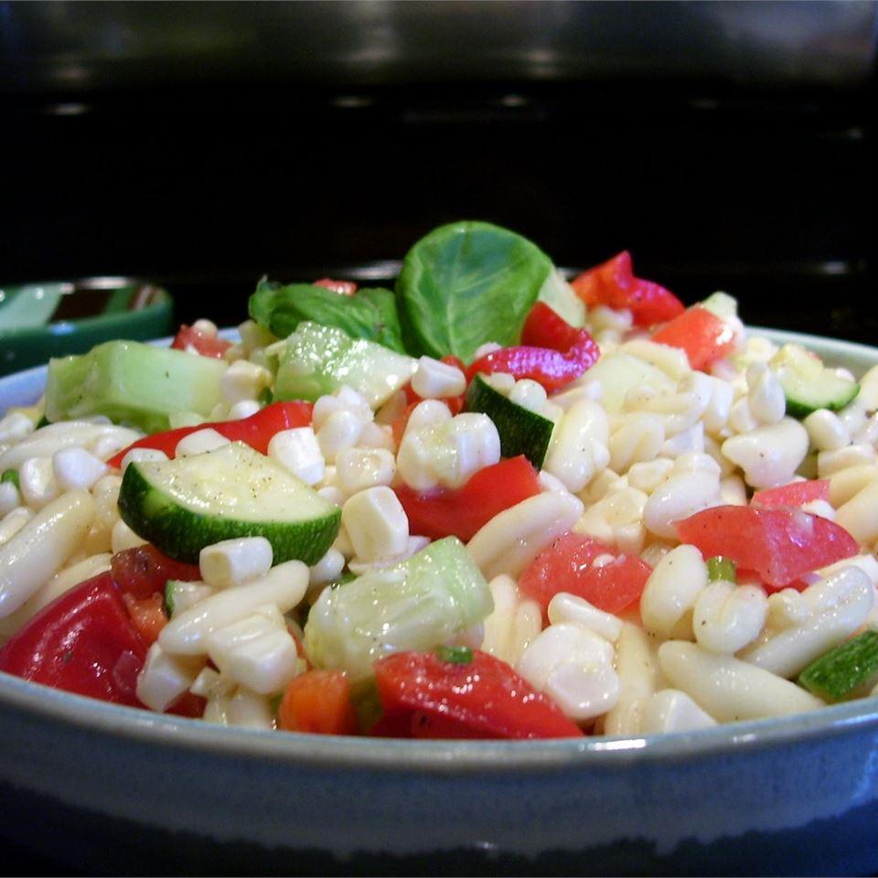 Receita de Salada de Milho Fresco de P.J.