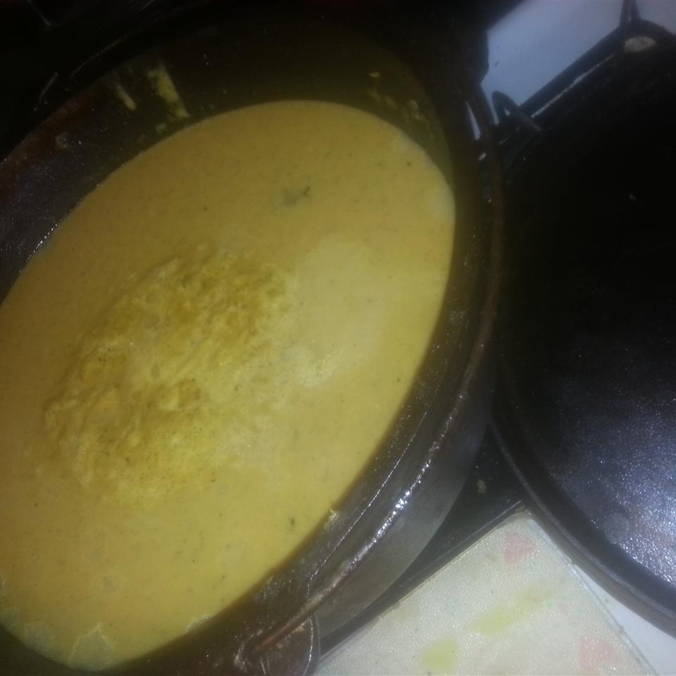Receita de sopa de abóbora de abóbora de abóbora de curry apimentada inspirada na tailandês