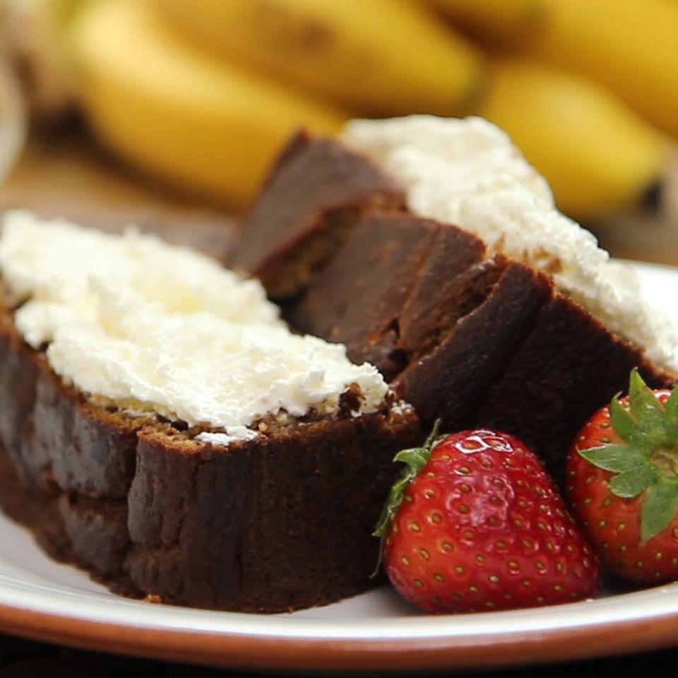 Receita de Pão de Banana Sem Grãos
