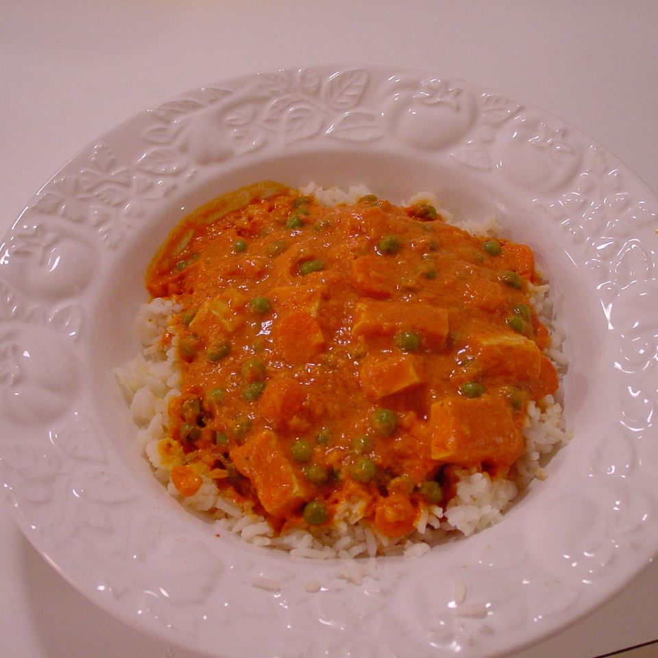 Receita de Keema de Tofu de Coco