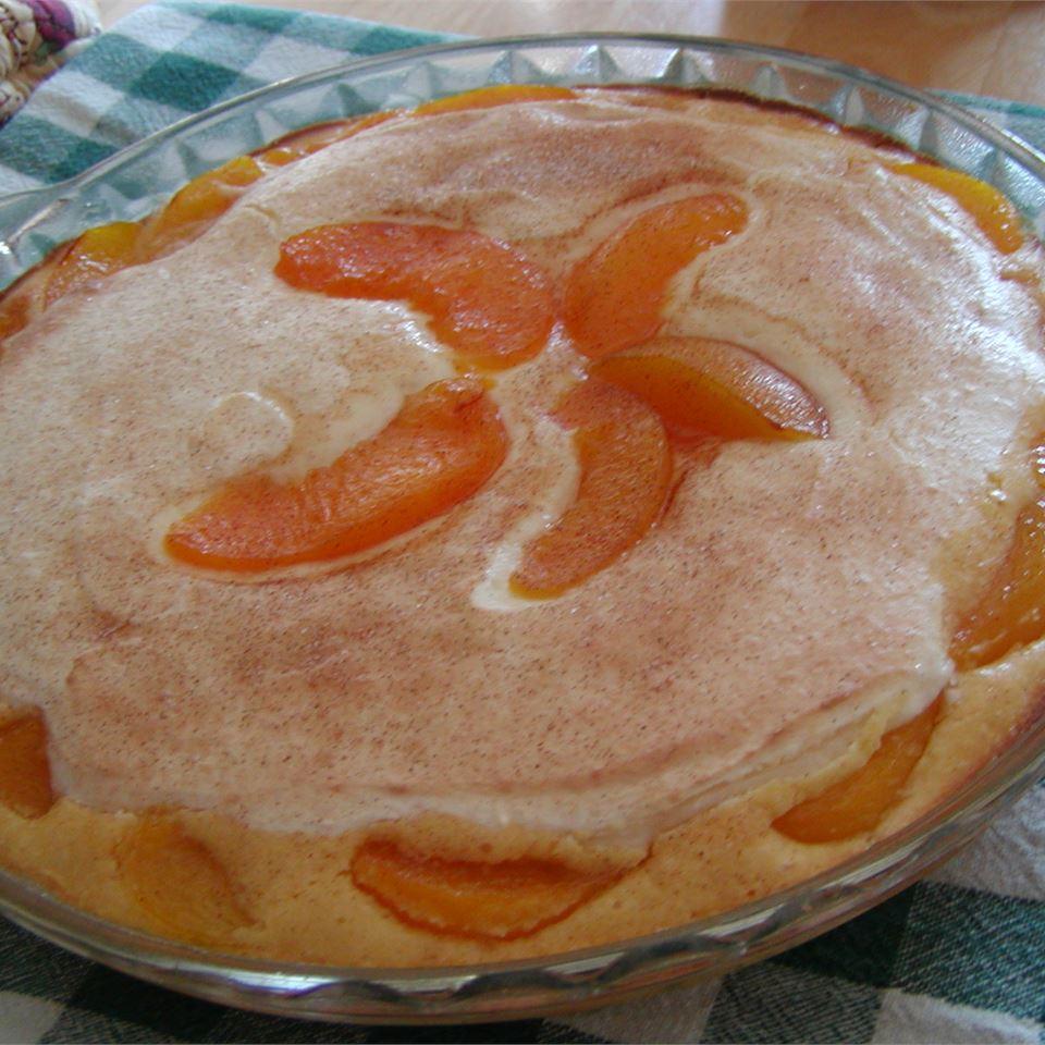 Peaches 'n Receita de Torta de Creme
