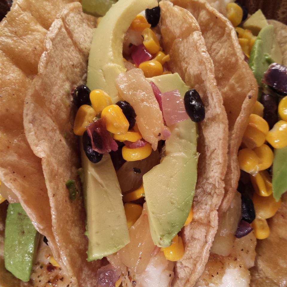 Receita de Tacos de Peixe de Tilápia