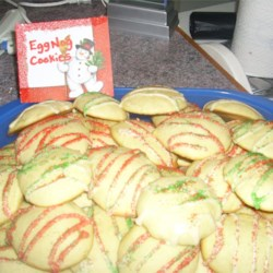 Eggnog Cookies II Recipe