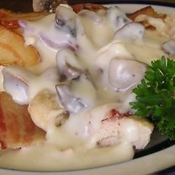 Bacon Mushroom Chicken Recipe