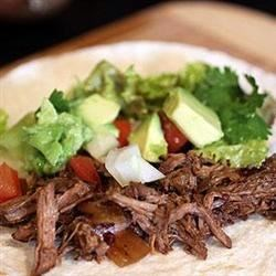 Charley's Slow Cooker Mexican Style Meat Recipe