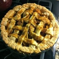 Healthier Apple Pie by Grandma Ople