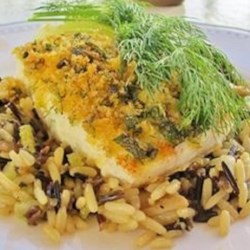 Herb Crusted Halibut Recipe