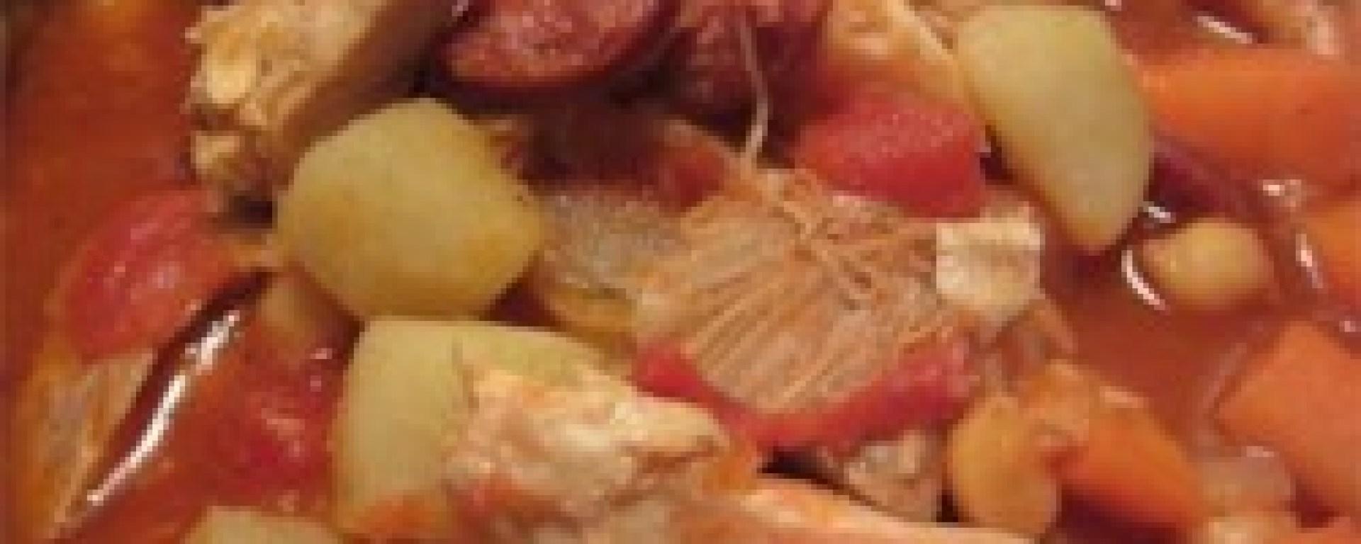 Spanish Style Chicken Stew Duncan S World