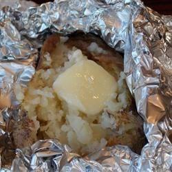 Campfire Baked Potatoes