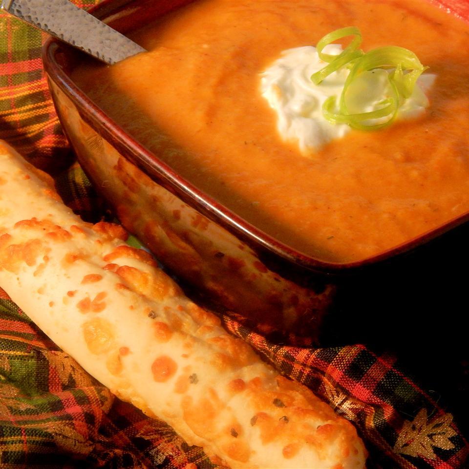 Receita de Sopa de Cenoura Indienne II