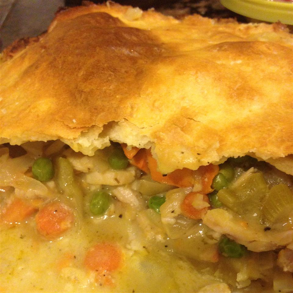 Receita de Turkey Pot Pie a la Kat