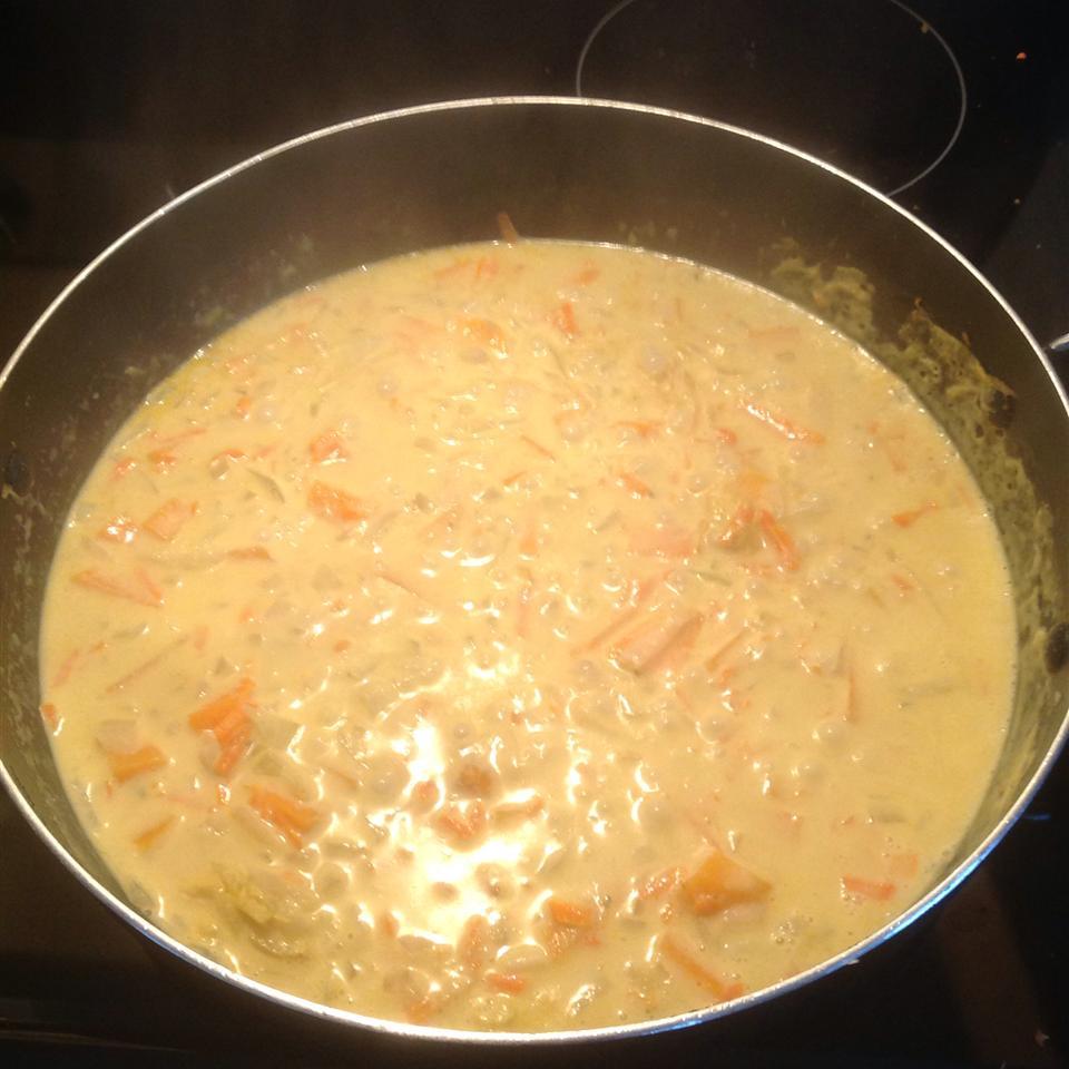 Receita de Curry Verde com Batata Doce e Berinjela (Berinjela)
