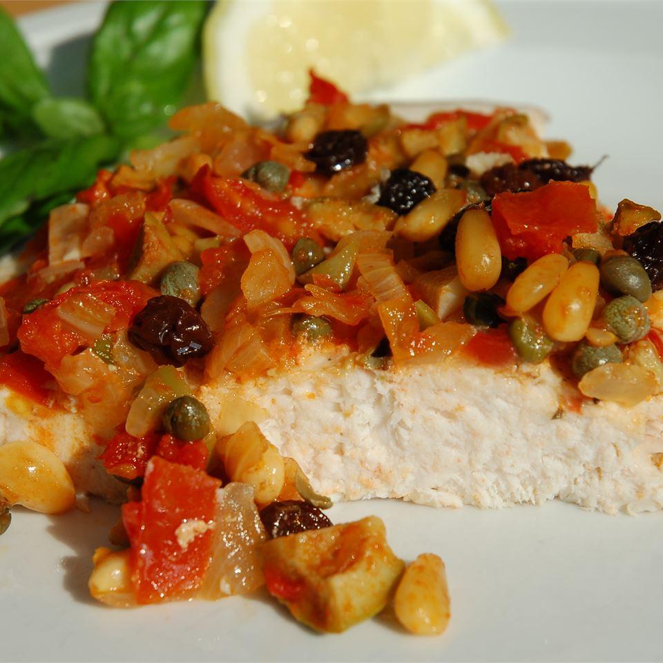 Receita de Swordfish a la Siciliana
