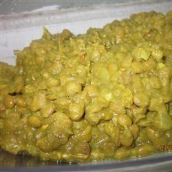 Receita paquistanesa de Curry de Lentilha