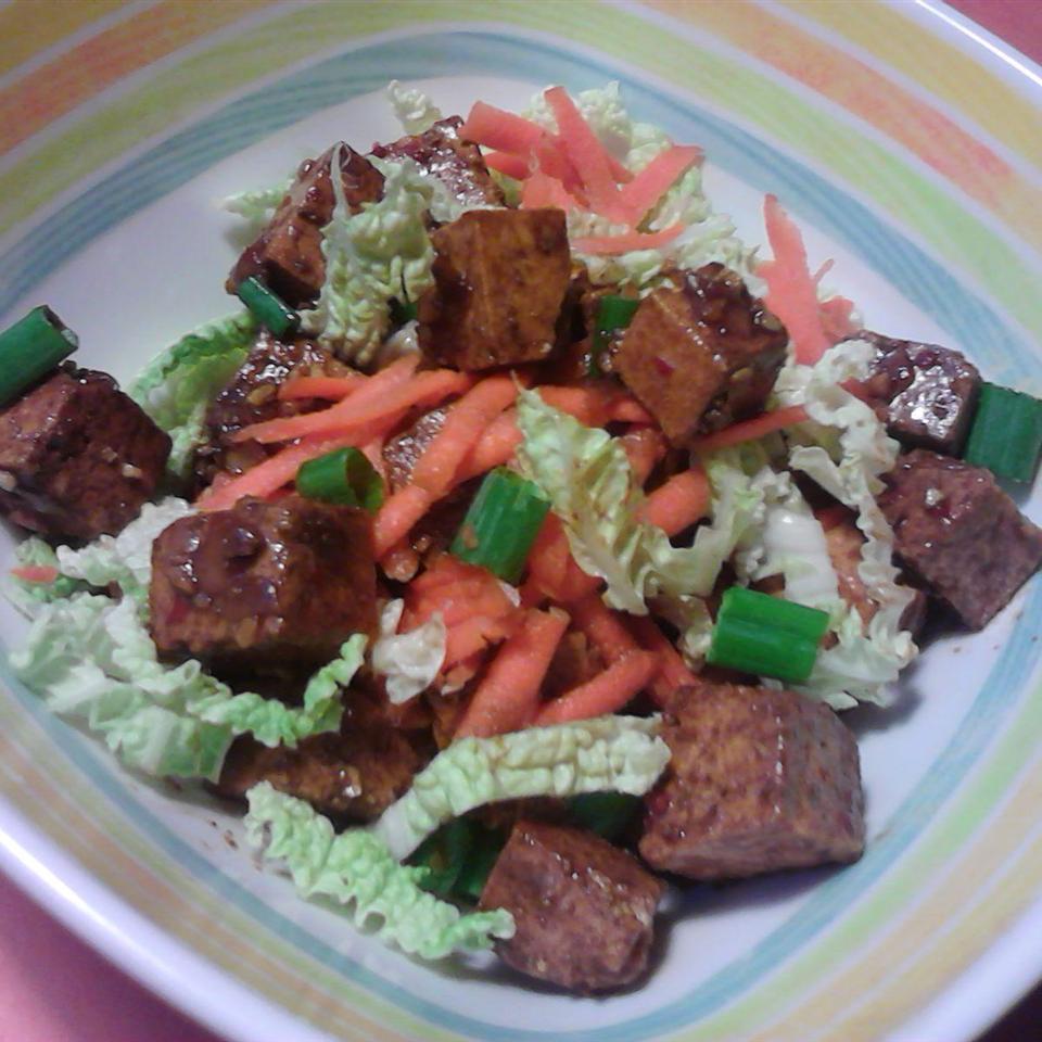 Receita de Salada de Tofu