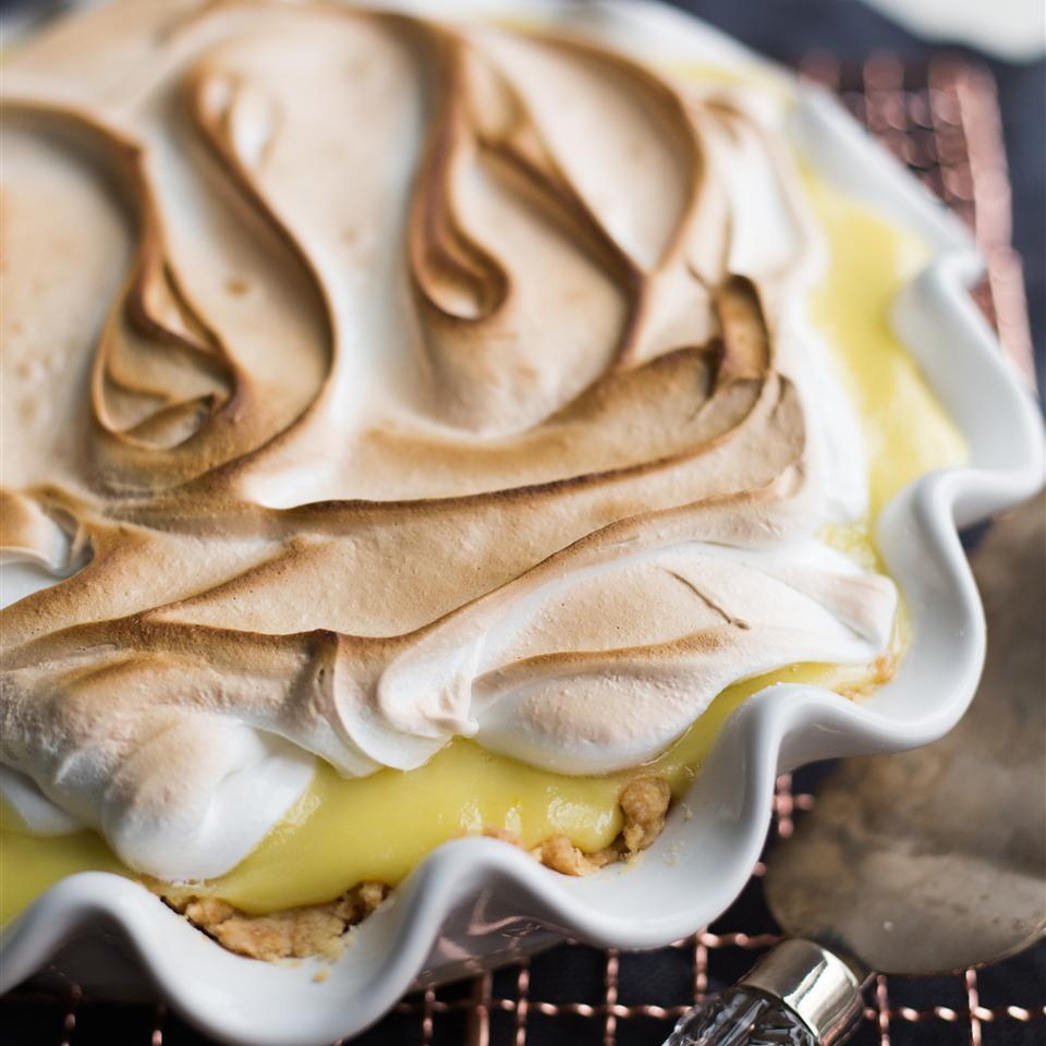 Receita de Torta de Creme de Coco e Limão