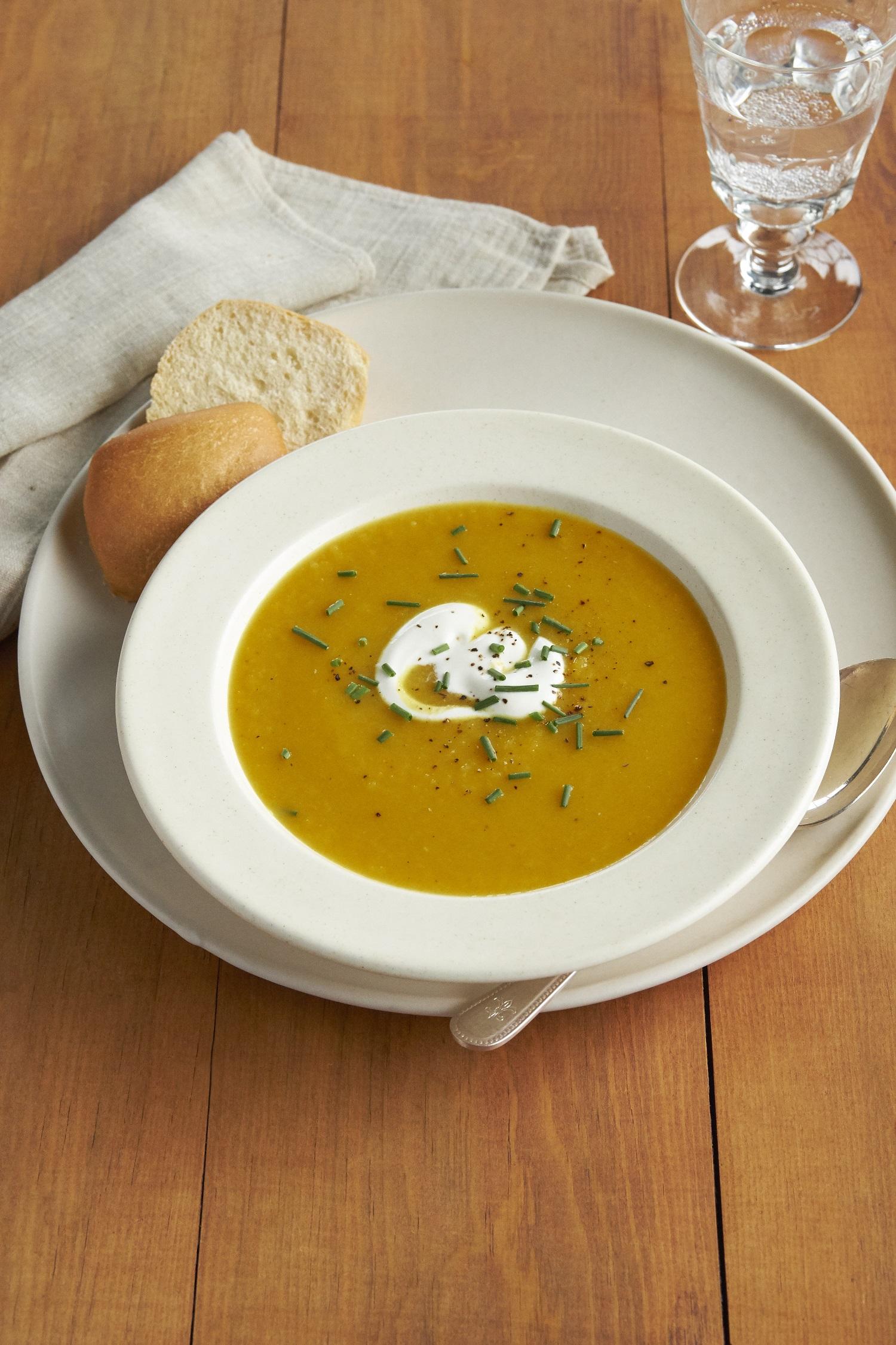 Receita de Sopa de Curry de Manteiga