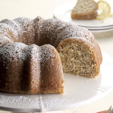 Lemon Poppy-Seed Cake