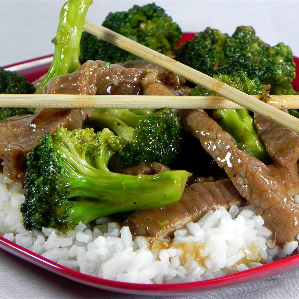 Receita de Carne e Brócolis estilo restaurante