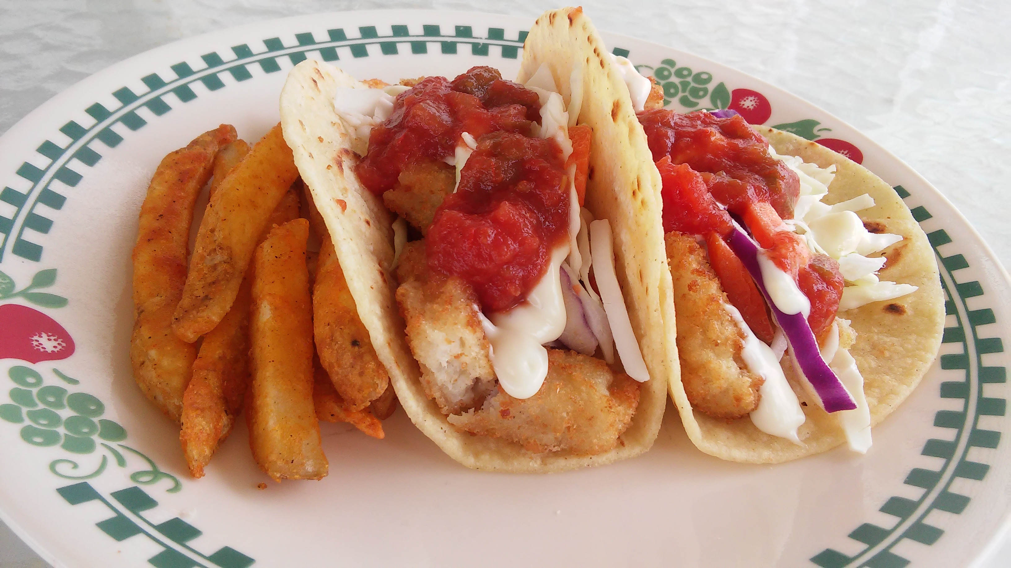 Receita rápida e fácil de tacos de peixe