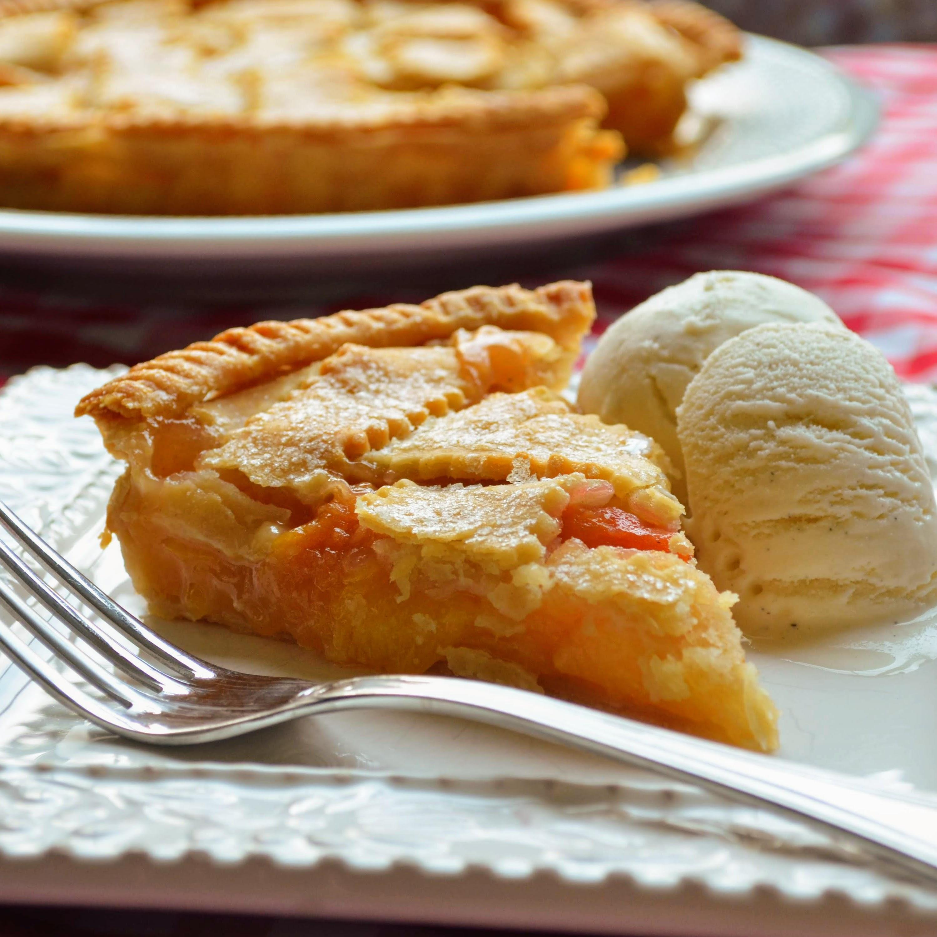 Receita de Torta de Pêssego do Chef John