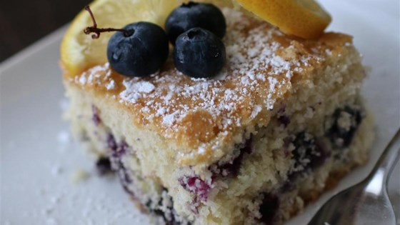 Fresh Blueberry Cake Recipe Allrecipes Com