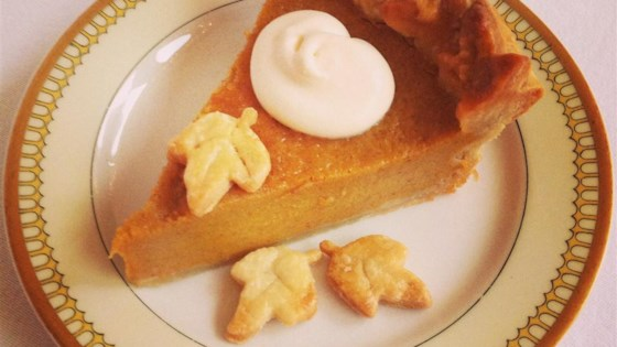Chef Johns Pumpkin Pie Recipe