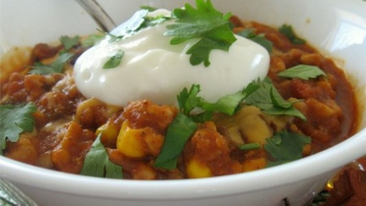 Photo of Pumpkin Turkey Chili by SOMEONESWT