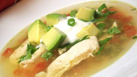 Avocado Soup with Chicken and Lime Recipe - Allrecipes.com