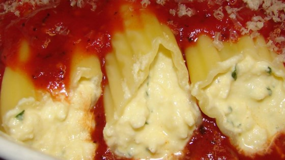 Manicotti Recipe