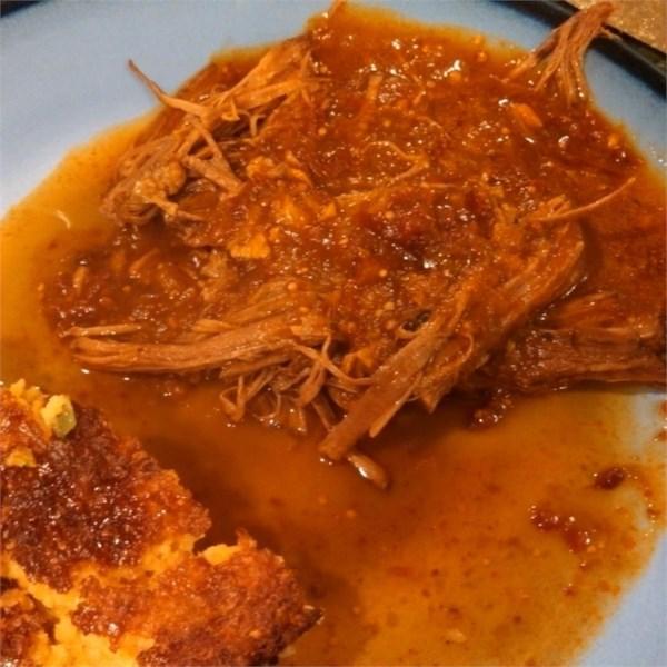 Brisket de Carne com Receita de Molho de Tomate Chipotle