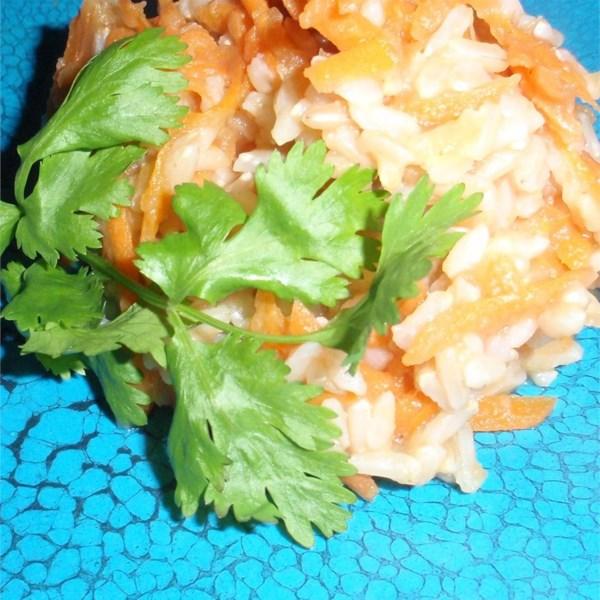 Receita de Arroz de Abóbora-Cenoura