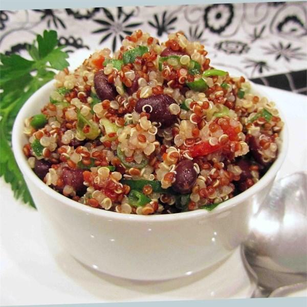 Receita de Salada zesty quinoa