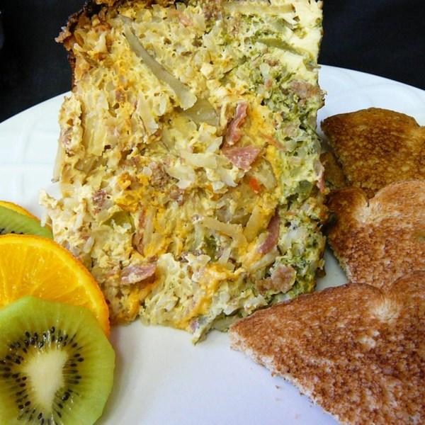 Receita de Omelete Ocidental de Panela Lenta