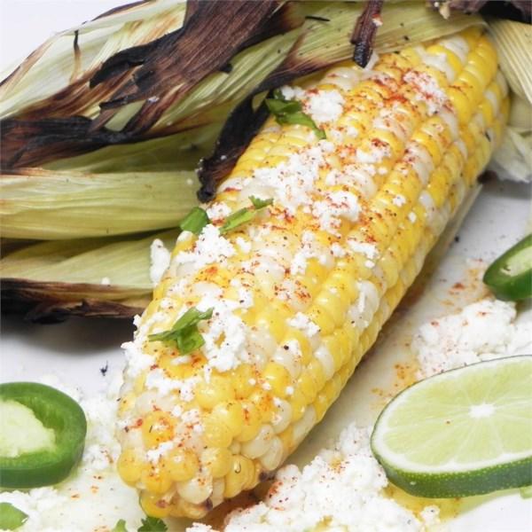 Receita de Milho Mexicano na Espiga (Elote)