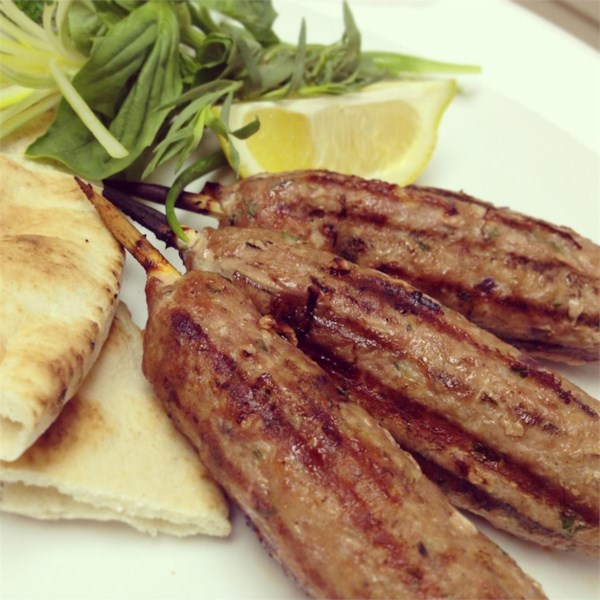 Receita de Kofta Kebabs