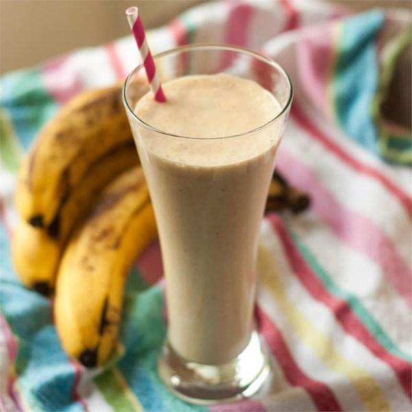 Receita de Smoothie de Banana de Manteiga de Amendoim