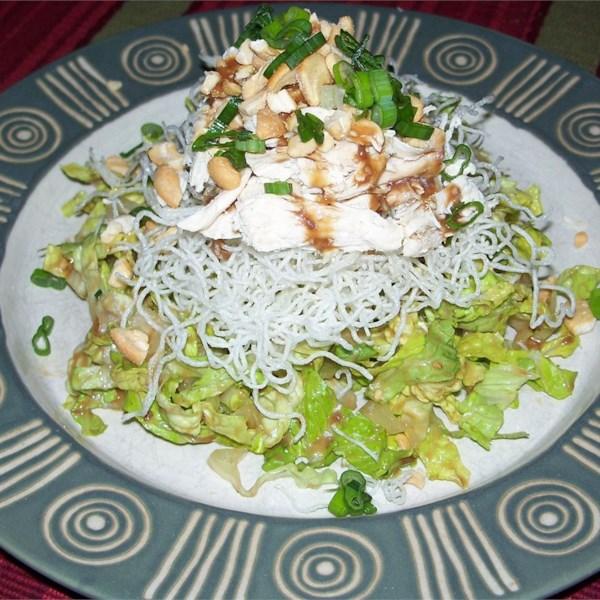 Receita de Salada de Frango Chinês