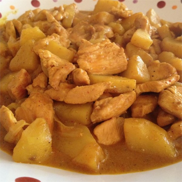 Receita de Frango Com Curry Chinês de Adriel