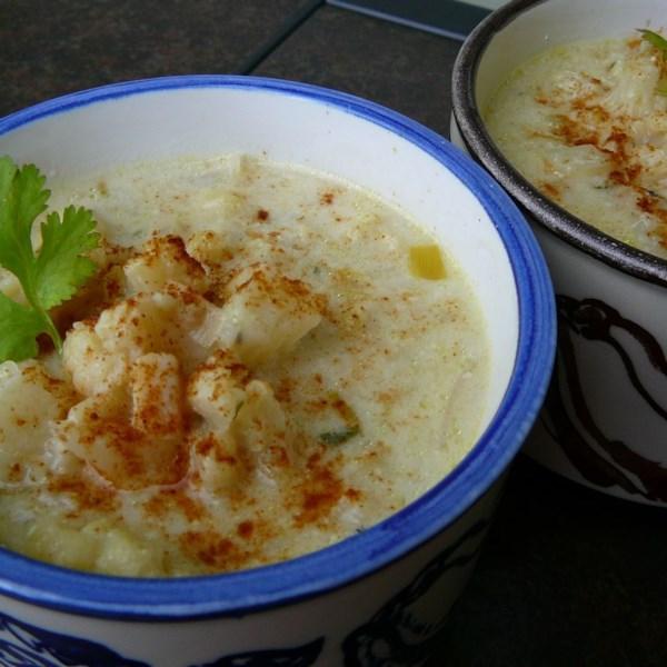 Receita de Couve-Flor Assada e Sopa de Alho-poró