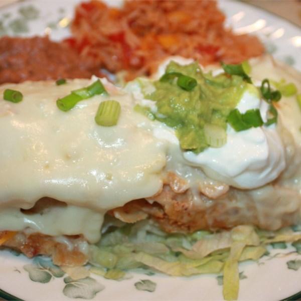 Receita fácil de Enchiladas de Frango Branco