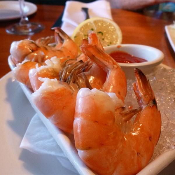 Receita de Coquetel scampi de camarão grelhado