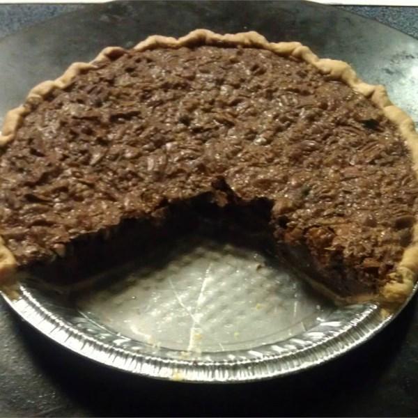 Receita de Torta de Nozes de Chocolate VI