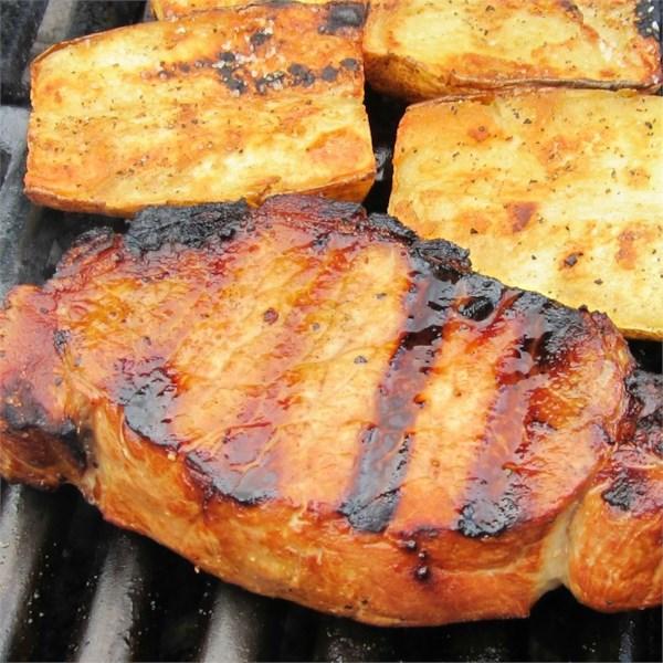 Melhor receita de costeletas de porco grelhadas