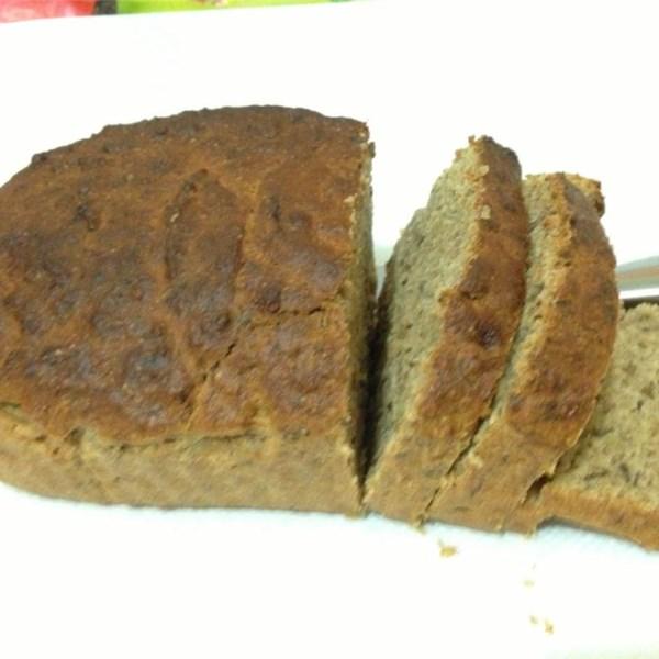 Receita de Pão de Trigo de Banana