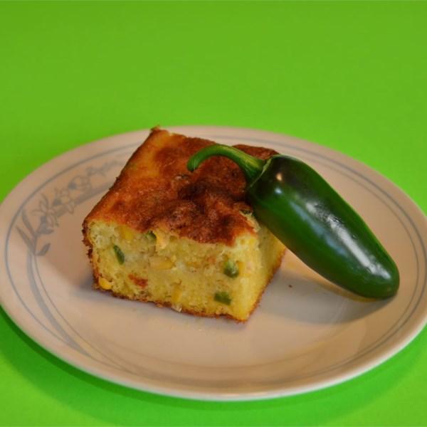 Receita de Pão de Milho Jalapeno