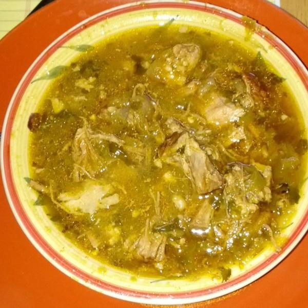 Receita de Carne de Porco De Panela Lenta Chile Verde