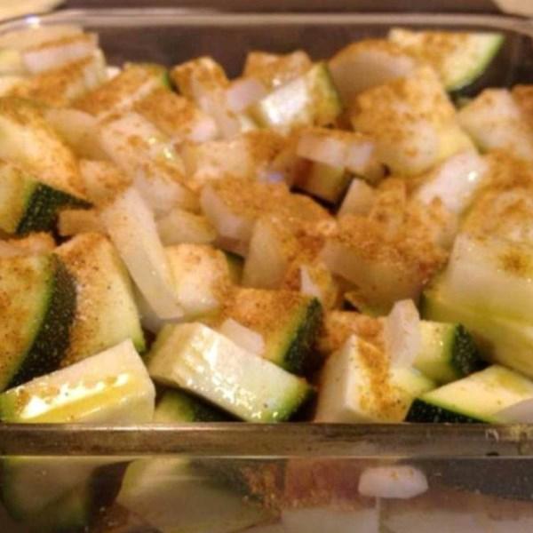 Receita de Legumes Assados Com Curry